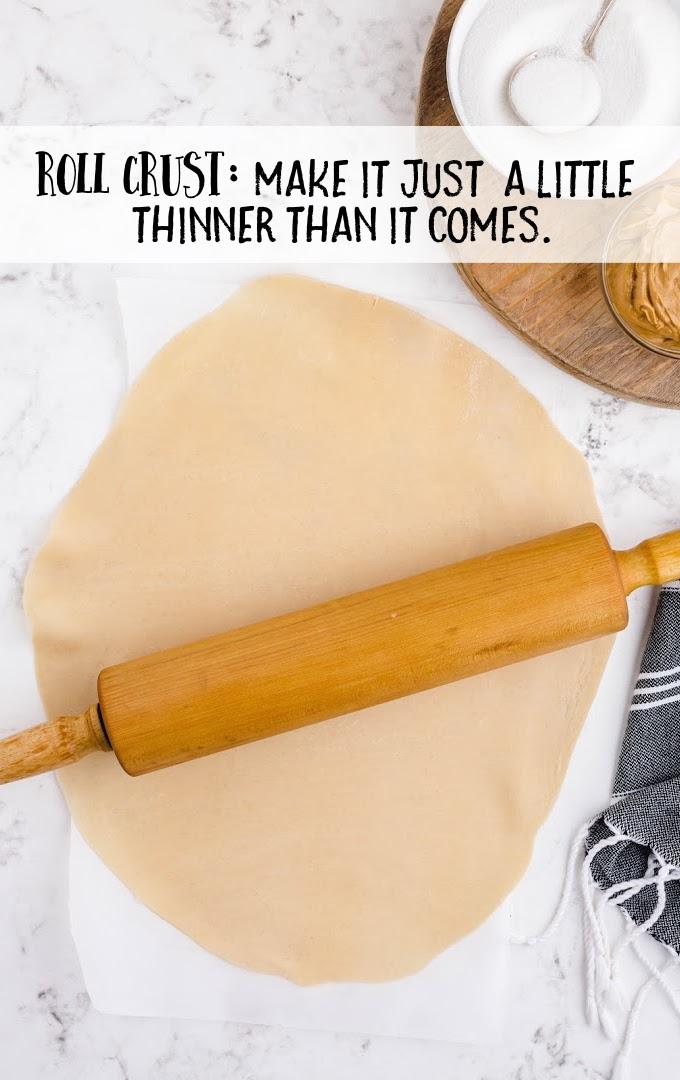 peanut butter lava cookies process shot