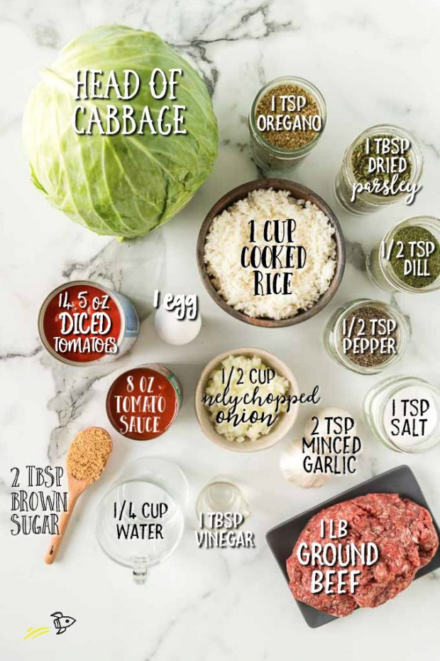 Cabbage roll and Ground beef