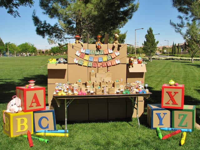21 toy story birthday party ideas of party table