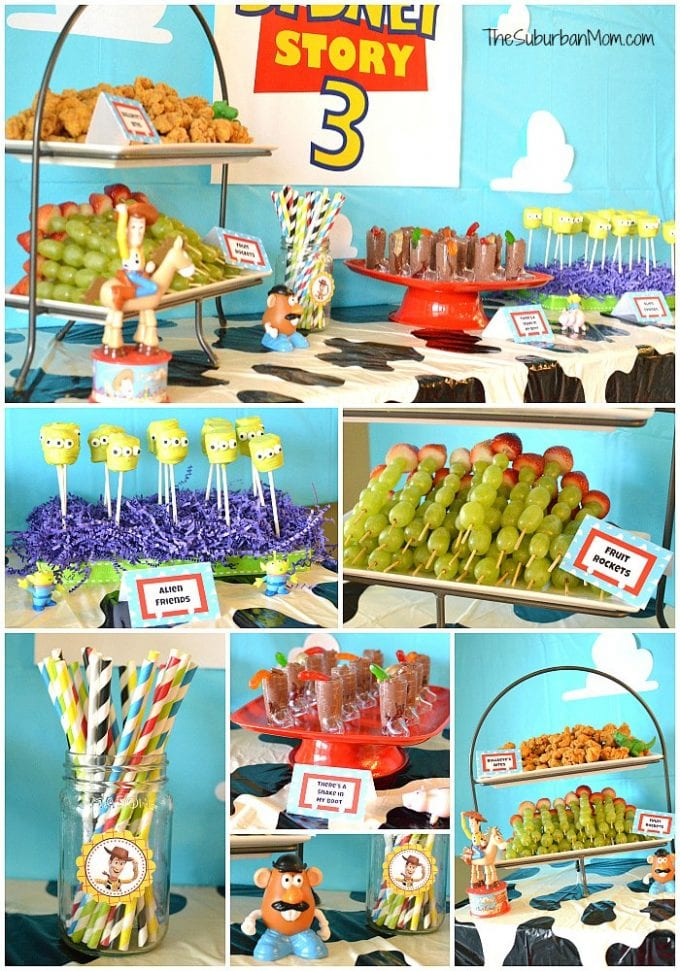 21 toy story birthday party ideas of party food