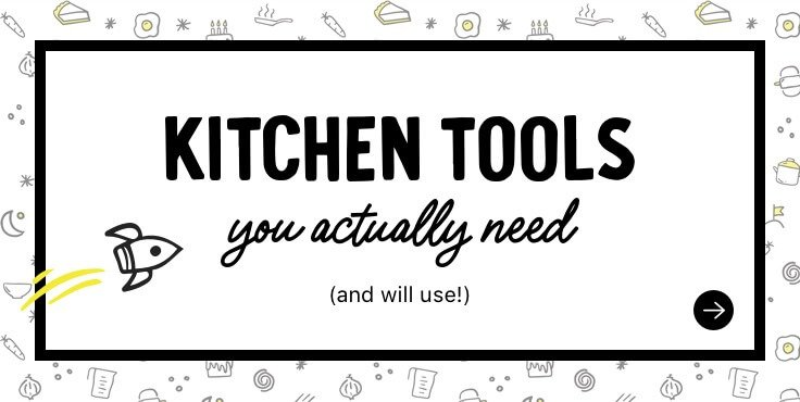 kitchen tools you actually need